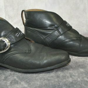 Ariat Shoes - Ariat 16301 Women's Black Leather Ankle Boots Size